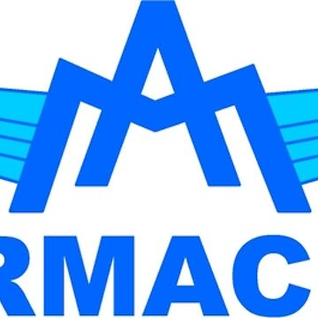 Vintage Aermacchi Motorcycle Logo by mkkessel