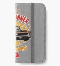 Plymouth Road Runner - American Muscle iPhone Flip-Case/Hülle/Klebefolie
