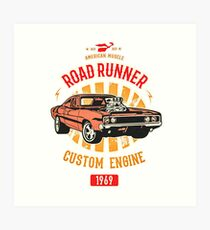 Plymouth Road Runner - American Muscle Kunstdruck
