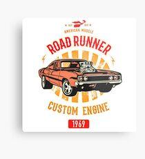 Plymouth Road Runner - American Muscle Metalldruck