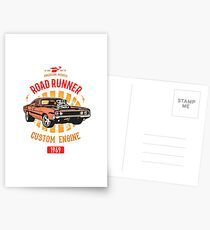 Plymouth Road Runner - American Muscle Postkarten