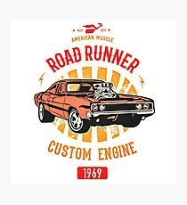 Plymouth Road Runner - American Muscle Fotodruck
