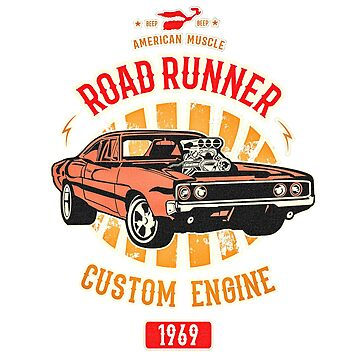 Plymouth Road Runner - American Muscle von SAVALLAS