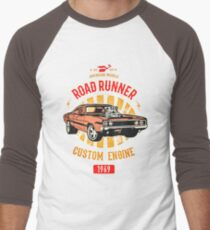 Plymouth Road Runner - American Muscle Baseballshirt mit 3/4-Arm