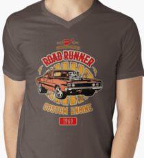 Plymouth Road Runner - American Muscle T-Shirt mit V-Ausschnitt für Männer