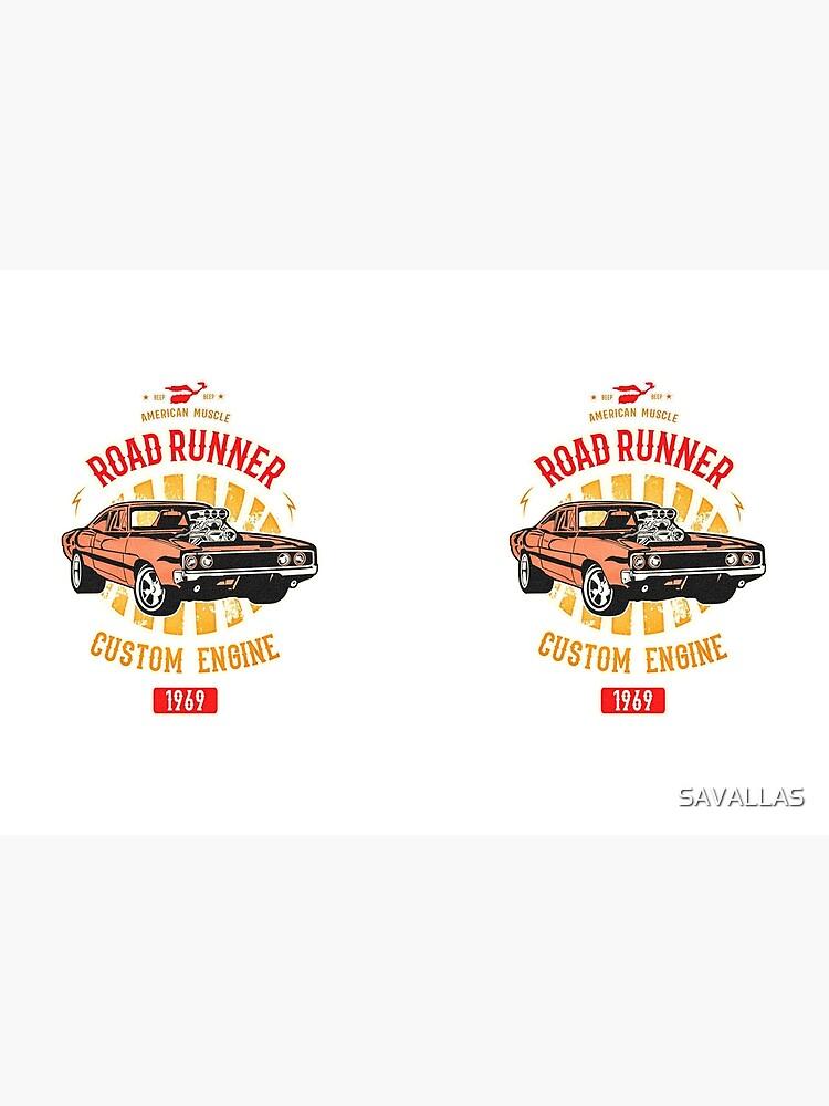Plymouth Road Runner - American Muscle von SAVALLAS