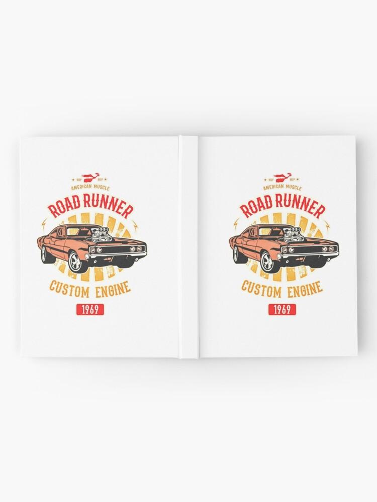 Alternative Ansicht von Plymouth Road Runner - American Muscle Notizbuch