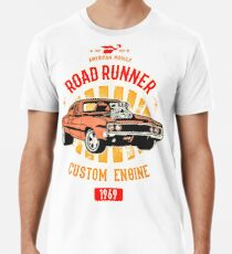 Plymouth Road Runner - American Muscle Männer Premium T-Shirts