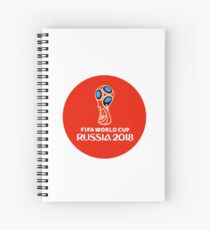 Fifa World Cup Russia 2018 Spiral Notebook