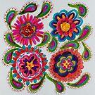 Wall Flowers by Alma Lee