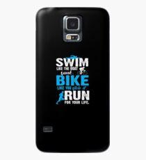 Triathlon Run like you Case/Skin for Samsung Galaxy