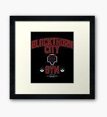 Blackthorn City Gym Framed Print