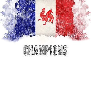 France Champions Soccer Football Design by MapleWarrior