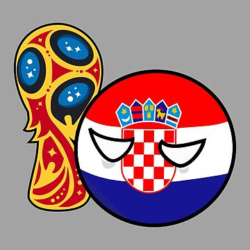 Polandball - Croatia can into World Cup by DigitalCleo