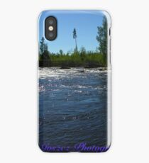 Wonderful Fly Fishing Rivers . Giman . Sweden.. ©Dr.Andrzej Goszcz. June 2018. iPhone Case