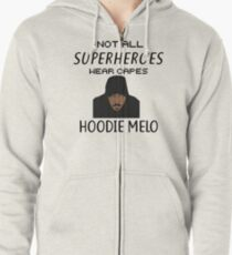 Trae Young Carmelo Anthony Not All Superheroes Wear Capes Zipped Hoodie