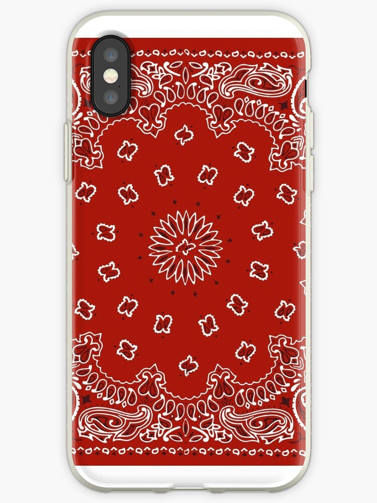 premium selection e3994 8222d 'Red Bandana' iPhone Case by ariahgraphics