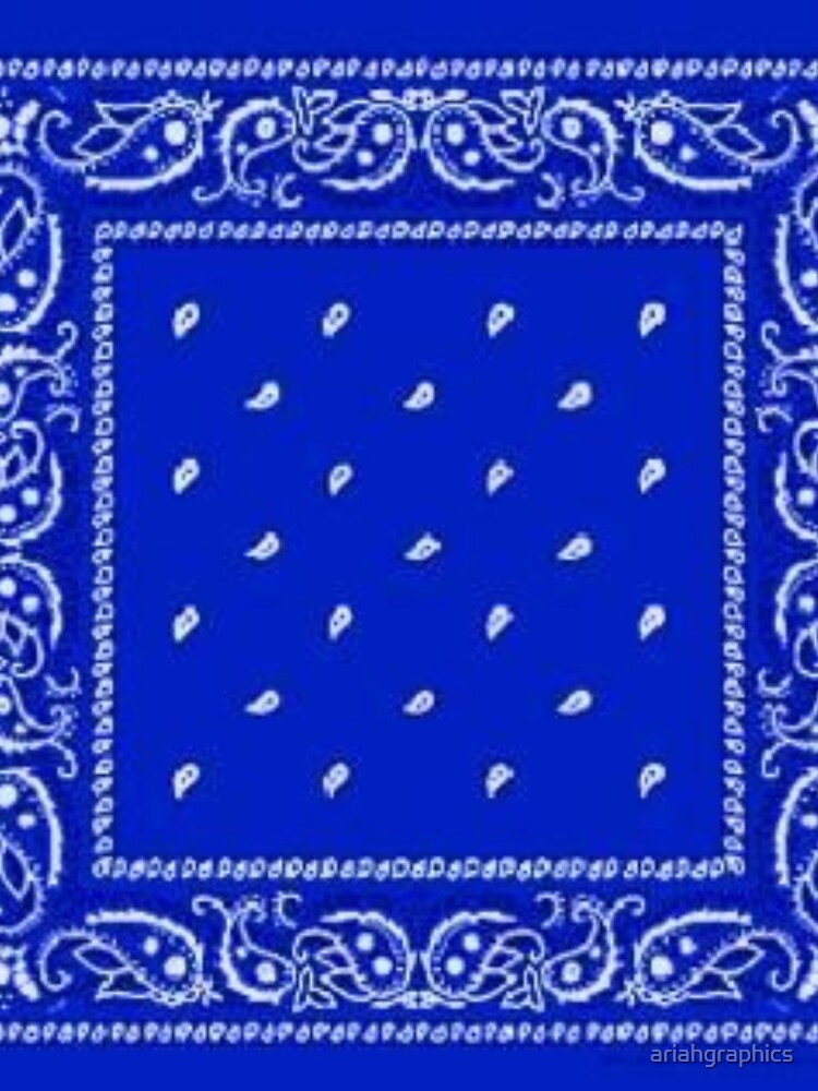 Blue Bandana by ariahgraphics