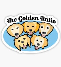 The Golden Ratio Sticker