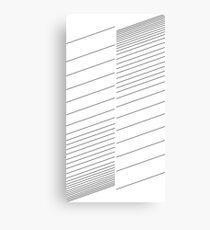 blinds, lines, stripes Canvas Print