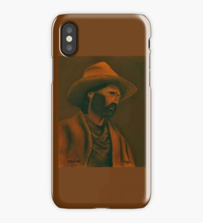 TENNESSEE SODBUSTER, Pastel Painting, for prints and products iPhone Case