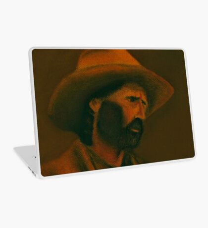 TENNESSEE SODBUSTER, Pastel Painting, for prints and products Laptop Skin
