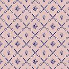 ROCK SCISSORS PAPER / Pattern by Daniel Coulmann