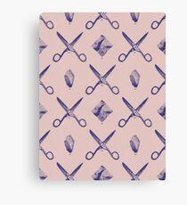 ROCK SCISSORS PAPER / Pattern Canvas Print
