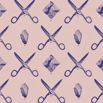 ROCK SCISSORS PAPER / Pattern by danielcoulmann