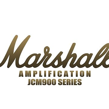 "Marshall Amp JCM900 Series ""Limited Edition"" by mugenjyaj"