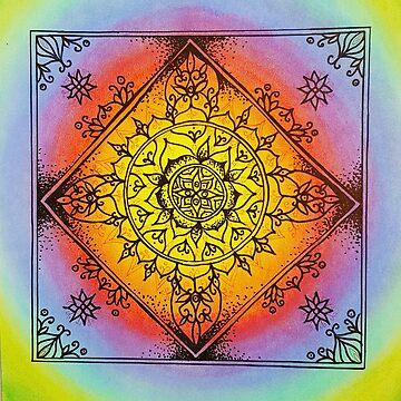 Joy in Life Mandala by Unicornuss