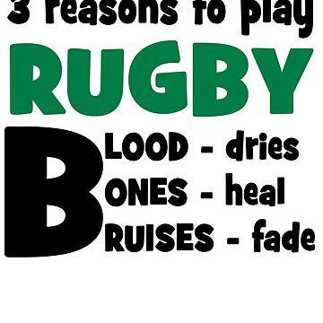 Rugby by Pferdefreundin