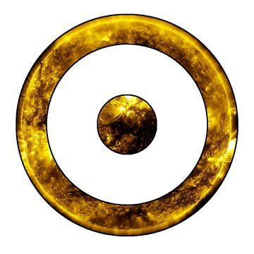 Sun Astrological Symbol by bigbadbear