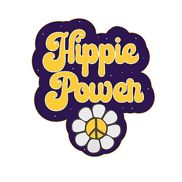 Hippie Power - Flower Power by TheCrossroad