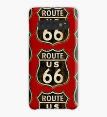 Vintage Route 66 Case/Skin for Samsung Galaxy