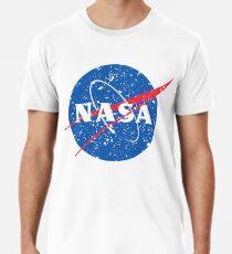 Frikadelle NASA verzweifelt offiziellen Logo Bilder Geschenk Premium T-Shirt