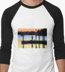 The Angler ! Men's Baseball ¾ T-Shirt