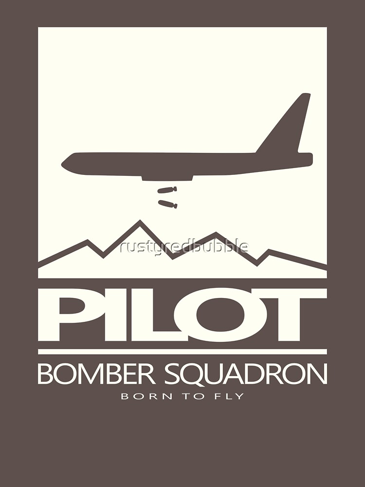 Bomber Pilot by rustyredbubble