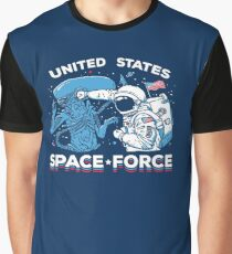 a65108e8 United States Space Force Shirt Graphic T-Shirt