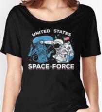 Camiseta ancha Camisa de la fuerza espacial de Estados Unidos