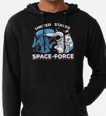 United States Space Force Shirt Lightweight Hoodie
