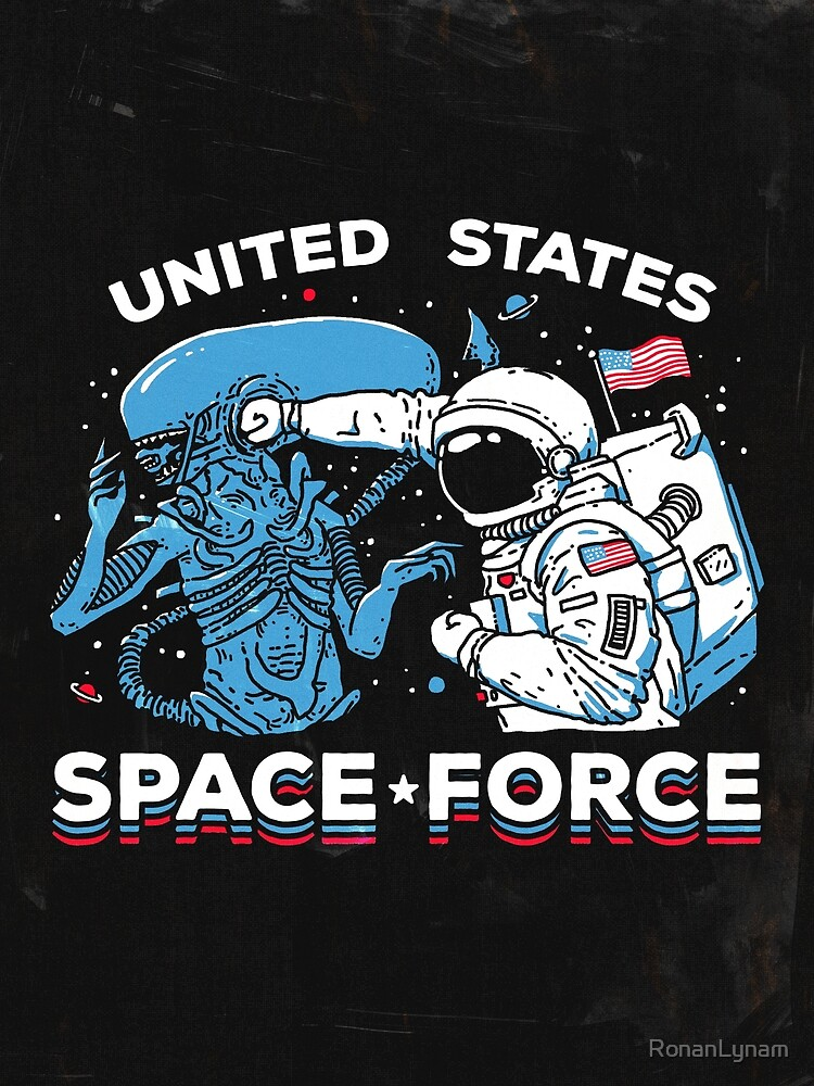 United States Space Force Shirt by RonanLynam
