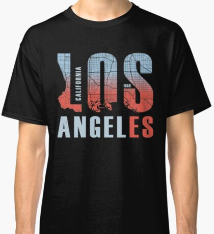 Los Angeles California City Of Angels LA 1850 Classic T-Shirt