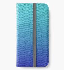 Gradient Leggings Blue iPhone Wallet/Case/Skin