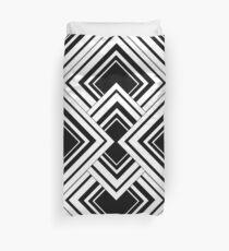 Black And White Art Deco Design Bettbezug