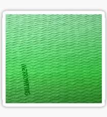 Green Gradient Scaled Leggings Sticker