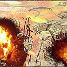 "xiiiH *""salamander only one munch""* v3_savedfromthefire by artbyangela"