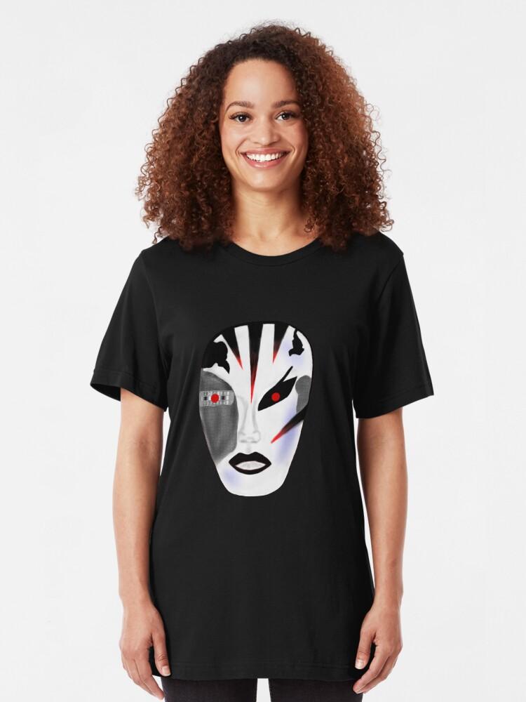 Alternate view of Robo-Geisha Slim Fit T-Shirt