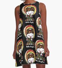 Hello Kaylee Winks A-Line Dress