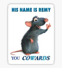 His name is not Ratatouille  Sticker